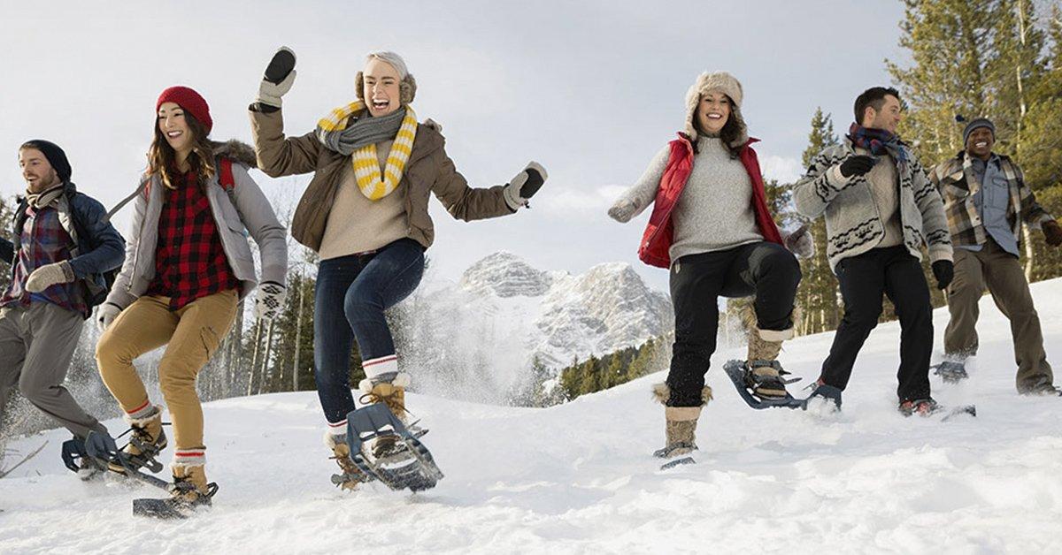 6-snowshoing